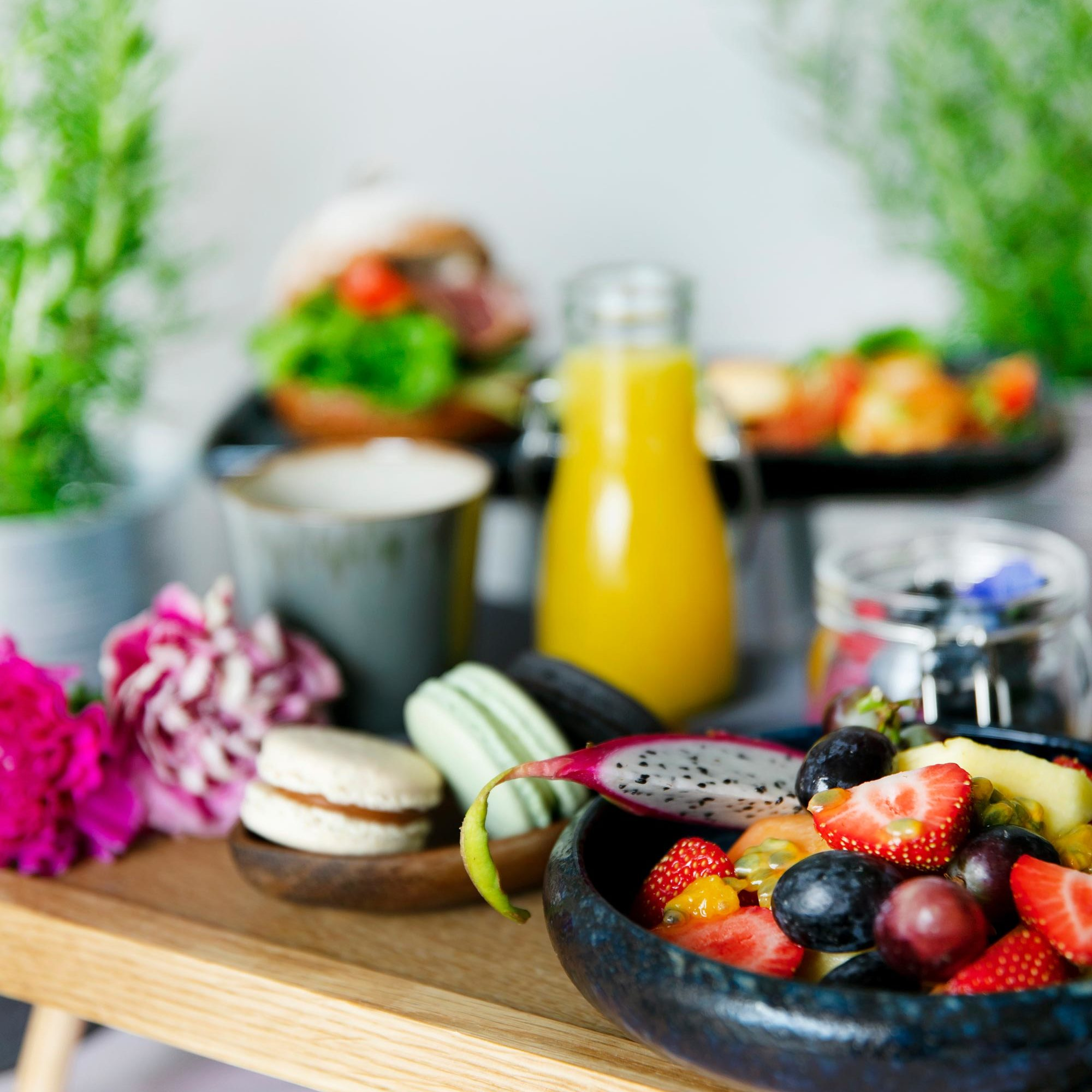 Shaer Catering aamiainen